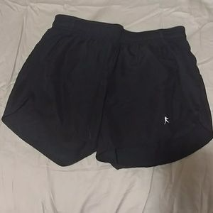 NWOT danskin black work out shorts